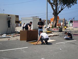 Queimódromo é utilizado todos os anos, em maio, para a festa da Queima das Fitas Foto: Arquivo JPN