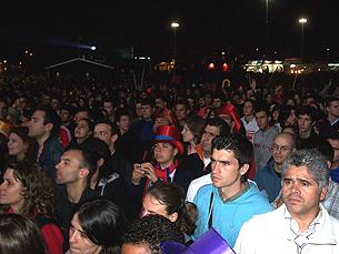 Primeira e segunda noite de Queima tiveram cerca de 40 mil visitantes cada Foto: Nelvino Lima