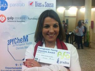 Prémio é promovido pelo Grupo de Químicos Jovens da Sociedade Portuguesa de Química Foto: DR