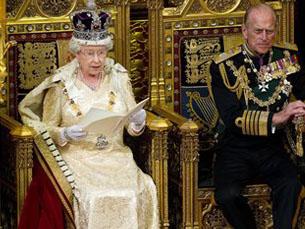 As questões da imigração foram abordadas no discurso de Isabel II Foto: DR