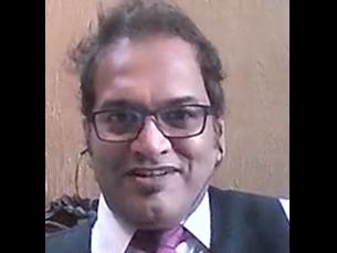 Rajesh Arora é um dos quatro candidatos a reitor da UP que vão às eleições de 30 de abril Foto: JPN