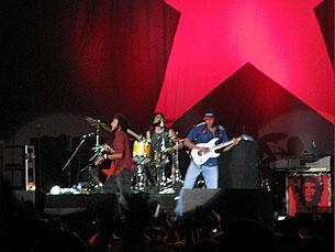 RATM deram o concerto da noite Foto: DR