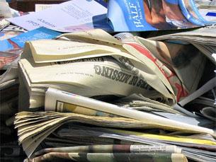Papel e cartão são os materiais mais reciclados em Portugal Foto: Flickr