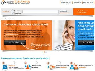 Desde o início de 2012 que empresas e profissionais se encontram através da Rede Freelancer Foto: DR