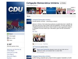 O partido mostra uma vertente mais humorista e satírica nas suas publicações nas redes sociais Foto: DR