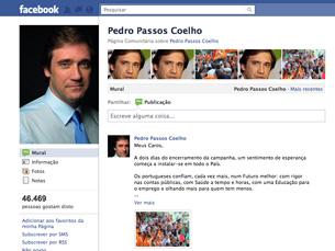 As redes sociais contam com uma alta participação do PSD e do seu líder partidário Foto: DR