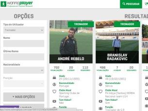 A WannaPlayer é uma rede social sobre futebol, que envolve todos os agentes do desporto