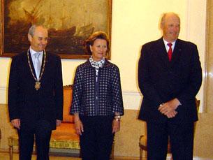 Monarcas noruegueses foram recebidos por Rui Rio que sublinhou relacionamento dos dois países Foto: Joana Caldeira Martinho