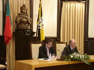 Protocolo é um exemplo da ligação da UP à sociedade, segundo Marques dos Santos Foto: Sofia Isabel Rodrigues