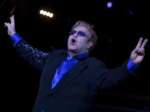 Elton John foi o cabeça