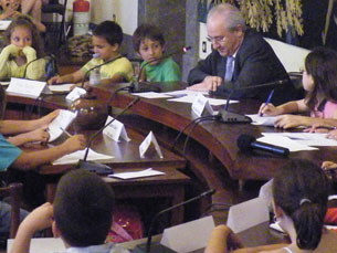 Urbanismo e alimentação nas escolas foram os temas debatidos na Câmara Municipal do Porto Foto: Daniel Cerejo