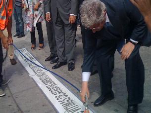 O ministro da Administração Interna marcou presença na inauguração da campanha Foto: Daniela Espírito Santo