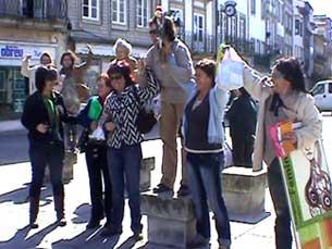 Rota dos Feminismos ajudou a preparar o Congresso Feminista Foto: Joana Caldeira Martinho