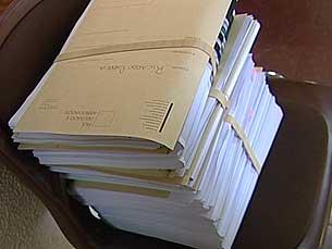 Acções judiciais entregues no tribunal Foto: Arquivo JPN
