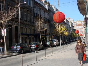 25 ruas vão, este ano, ser decoradas no Porto Foto: Arquivo JPN