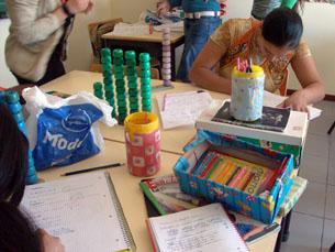 As aulas no bairro do Olival decorrem num ambiente acolhedor Foto: Daniela Espírito Santo
