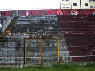 Sem a glória de outrora, sem um estádio próprio, o Salgueiros vai sobrevivendo, com história e tradição Foto: JPN