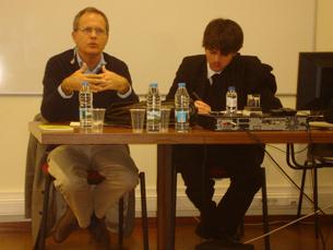 """Eduardo Cintra Torres é o autor do livro """"A Televisão e o Serviço Público"""" Foto: Salomé Fonseca"""