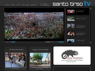 A Santo Tirso TV arranca, para já, apenas na Internet Foto: DR