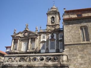 """Igreja de São Francisco é um monumento """"mais escondido"""" na Invicta Foto: Patrícia Posse"""