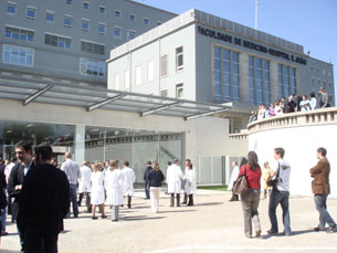 Uma das meninas já foi transferida do H.S.João para o Dona Estefânia, em Lisboa Foto: Ana Romão Moura / Arquivo JPN