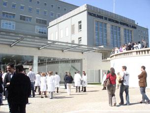 O Hospital de São João, no Porto, é uma das oito instituições afetadas pela greve Foto: Arquivo JPN