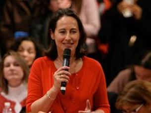 """Ségolène Royal é considerada por muitos a """"discípula"""" de Mitterrand Foto: DR"""