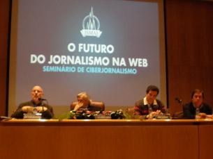O seminário contou com Nuno Marques, José Vítor Malheiros e Jorge Massadas Foto: Sara Rocha