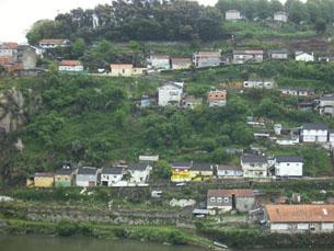 Medidas de minimização dos riscos da escarpa estão a ser implementadas na Serra do Pilar Foto: Inês Figueiras