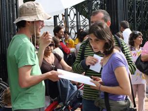 Mais de mil pessoas subscreveram o protesto Foto: Margarida Silva