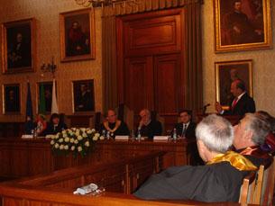 Emilio Botín foi o convidado principal do 97º aniversário da Universidade do Porto Foto: Carla Camarinha
