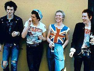 Os Sex Pistols, ainda com o falecido Sid Vicious Foto: DR