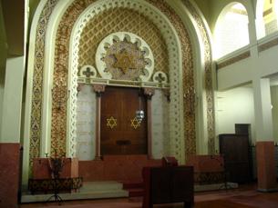A única sinagoga do Porto está situada na Rua Guerra Junqueiro Fotos: Luís Lago