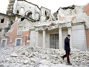 A proximidade do sismo de Áquila pode permitir tirar conclusões sobre os edifícios portugueses Foto: Le aventure di Giufà/Flickr