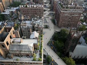 O Sky Network permite que o movimento dos peões seja transformado em energia Foto: DR