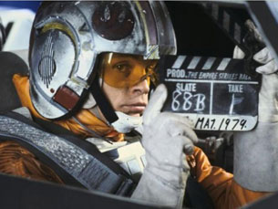 "Mark Hamill era desconhecido antes de interpretar Luke Skywalker, em ""Star Wars"" Foto: DR"