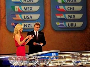Sorteio colocou Portugal no Grupo G, com o Brasil, Costa do Marfim e Coreia do Norte Foto: FIFA