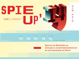 O Spie UP 2014 irá decorrer entre os dias 17 e 23 de maio. Dia 21, os speakers do Ignite Portugal sobem à palete para inspirar a plateia Foto: DR