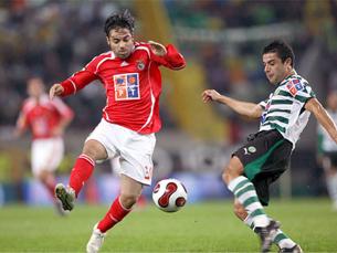 No jogo da primeira volta, em Alvalade, o Sporting foi surpreendido por um Benfica determinado Foto: SL Benfica