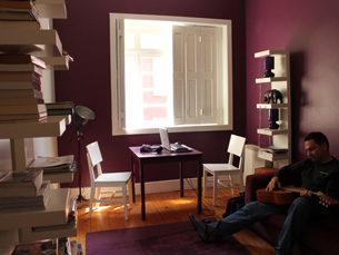 Um espaço descontraído e familiar na cidade do Porto Foto: Mariana Ascenção