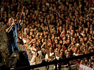 Bruce Springsteen fechou a edição 2012 do Rock in Rio Lisboa, na noite de 3 de junho Fotos: Graziela Costa