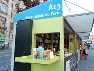 A Feira do Livro vai estar nos Aliados até 12 de Junho Foto: Catarina Campos