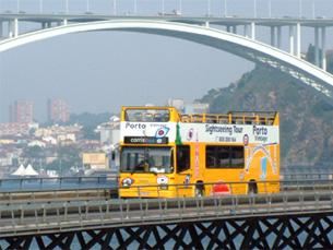Novos portais da STCP servem para atrair mais turistas à cidade portuense Foto: STCP