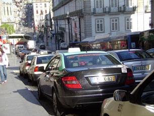 A nova aplicação pretende facilitar o trabalho dos motoristas de táxi Foto: Marta Portocarrero