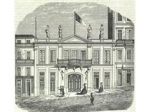 Teatro Baquet é uma das salas presentes no livro Gravura: Nogueira da Silva/Biblioteca Nacional