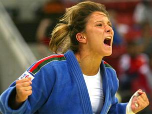 Telma Monteiro ficou em nono lugar depois de derrotas com Xian Dongmei e Ana Carrascosa Foto: DR