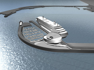 O terminal de cruzeiros deverá estar pronto em 2011 Porto de Leixões