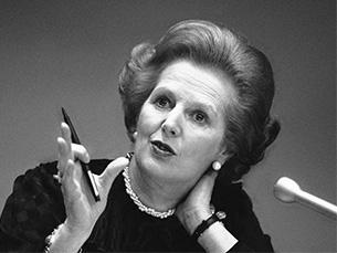 Esta mulher é teimosa, obstinada e perigosamente opinativa, foi a avaliação de uma empresa a que Thatcher se candidatou em 1948 Foto: DR