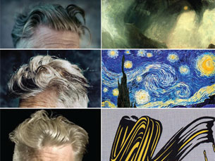 Jimmy Chen compara penteados de Lynch a obras de arte Foto: DR