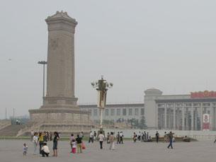 A Praça é um dos locais mais visitados da China Foto: JimTheGiantEagle / Flickr
